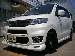 沖縄の中古車 スズキ ワゴンRスティングレー 車両価格 84万円 リ済込 平成24年 6.1万K パールホワイト