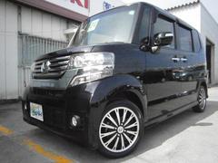 沖縄の中古車 ホンダ N BOXカスタム 車両価格 109万円 リ済込 平成24年 6.8万K DブラックM