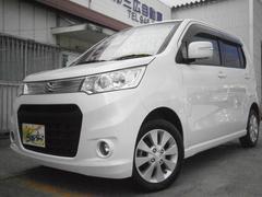 沖縄の中古車 スズキ ワゴンRスティングレー 車両価格 114万円 リ済込 平成26年 4.9万K パールホワイト
