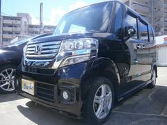 沖縄の中古車 ホンダ N BOXカスタム 車両価格 109万円 リ済込 平成24年 6.8万K ワインM