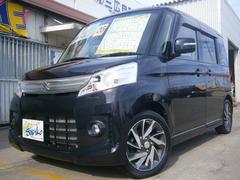 沖縄の中古車 スズキ スペーシアカスタム 車両価格 115万円 リ済込 平成26年 6.1万K DブラックM