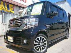 沖縄の中古車 ホンダ N BOXカスタム 車両価格 104万円 リ済込 平成24年 7.7万K ワインM