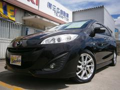 沖縄の中古車 マツダ プレマシー 車両価格 89万円 リ済込 平成24年 8.5万K ワインM