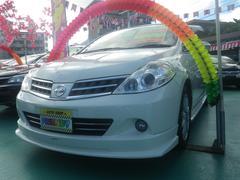 沖縄の中古車 日産 ティーダ 車両価格 59万円 リ済込 平成22年 8.2万K パールホワイト