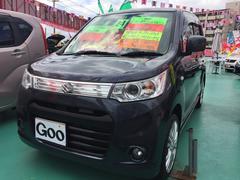 沖縄の中古車 スズキ ワゴンRスティングレー 車両価格 89万円 リ済込 平成24年 6.8万K ダークグレーM