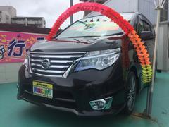 沖縄の中古車 日産 セレナ 車両価格 219万円 リ済込 平成27年 2.6万K ブラウンM