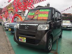 沖縄の中古車 ホンダ N BOX 車両価格 109万円 リ済込 平成26年 1.7万K ブラウンM
