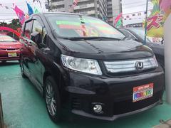 沖縄の中古車 ホンダ フリードスパイクハイブリッド 車両価格 119万円 リ済込 平成24年 8.8万K ブラックM