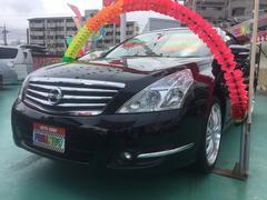 沖縄の中古車 日産 ティアナ 車両価格 89万円 リ済込 平成23年 8.6万K ブラック