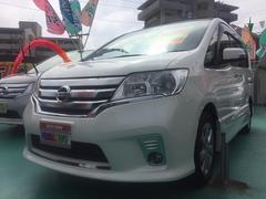 沖縄の中古車 日産 セレナ 車両価格 129万円 リ済込 平成24年 8.9万K パールホワイト