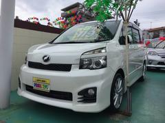 沖縄の中古車 トヨタ ヴォクシー 車両価格 119万円 リ済込 平成22年 9.7万K パールホワイト