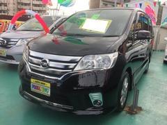 沖縄の中古車 日産 セレナ 車両価格 149万円 リ済込 平成24年 8.5万K ブラック