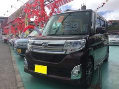 沖縄の中古車 ダイハツ タント 車両価格 123万円 リ済込 平成26年 6.4万K ブラウンM
