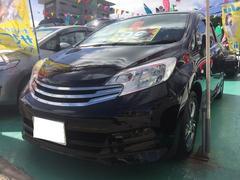 沖縄の中古車 日産 ノート 車両価格 99万円 リ済込 平成25年 7.9万K ブラック