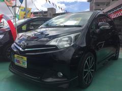 沖縄の中古車 トヨタ ラクティス 車両価格 89万円 リ済込 平成23年 6.8万K ブラック