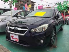 沖縄の中古車 スバル インプレッサスポーツ 車両価格 109万円 リ済込 平成24年 8.1万K 紺M