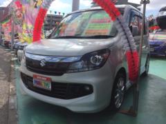 沖縄の中古車 スズキ ソリオバンディット 車両価格 99万円 リ済込 平成27年 8.5万K パール