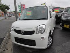 沖縄の中古車 日産 モコ 車両価格 81万円 リ済込 平成24年 6.2万K パール