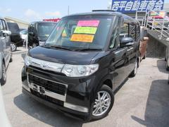 沖縄の中古車 ダイハツ タント 車両価格 74万円 リ済込 平成22年 8.9万K ブラックM