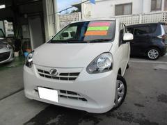 沖縄の中古車 ダイハツ ミライース 車両価格 61万円 リ済込 平成24年 6.6万K パール