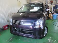 沖縄の中古車 スズキ ワゴンR 車両価格 75万円 リ済込 平成24年 7.1万K ダークパープルM