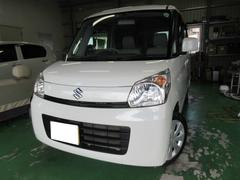 沖縄の中古車 スズキ スペーシア 車両価格 101万円 リ済込 平成25年 6.9万K パールM
