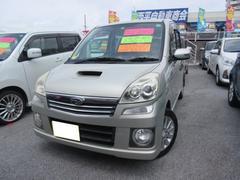 沖縄の中古車 スバル ステラ 車両価格 41万円 リ済込 平成19年 9.2万K ライトゴールド