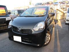沖縄の中古車 ダイハツ ミライース 車両価格 61万円 リ済込 平成25年 7.0万K ブラック