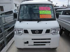 沖縄の中古車 日産 NV100クリッパーバン 車両価格 61万円 リ済込 平成25年 6.2万K ホワイト