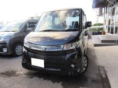 沖縄の中古車 スズキ パレットSW 車両価格 85万円 リ済込 平成24年 6.3万K ブラック