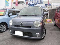 沖縄の中古車 ダイハツ ミラココア 車両価格 79万円 リ済込 平成23年 7.5万K ダークグレーM