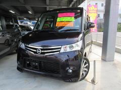 沖縄の中古車 日産 ルークス 車両価格 91万円 リ済込 平成25年 5.3万K パープルM