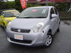沖縄の中古車 トヨタ パッソ 車両価格 63万円 リ済込 平成24年 8.0万K シルバーM