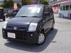 沖縄の中古車 日産 ピノ 車両価格 34万円 リ済込 平成19年 9.1万K ブラックII