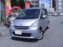 沖縄の中古車 ダイハツ ムーヴ 車両価格 60万円 リ済込 平成23年 7.8万K シルバーM