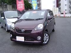 沖縄の中古車 ダイハツ ミライース 車両価格 63万円 リ済込 平成23年 5.7万K ブラウンM