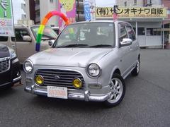 沖縄の中古車 ダイハツ ミラジーノ 車両価格 34万円 リ済込 平成13年 13.4万K シルバーM