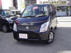 沖縄の中古車 スズキ ワゴンR 車両価格 68万円 リ済込 平成24年 5.5万K ブラックM