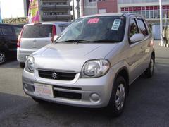 沖縄の中古車 スズキ Kei 車両価格 38万円 リ済込 平成20年 7.7万K シルバーM