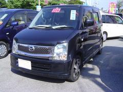 沖縄の中古車 マツダ AZワゴン 車両価格 58万円 リ済込 平成20年 6.3万K ブラックM