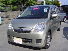 沖縄の中古車 スバル プレオ 車両価格 58万円 リ済込 平成24年 6.2万K ゴールドM