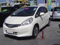 沖縄の中古車 ホンダ フィット 車両価格 69万円 リ済込 平成24年 7.1万K パールホワイト