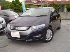 沖縄の中古車 ホンダ インサイト 車両価格 63万円 リ済込 平成21年 6.4万K ダークブルーM
