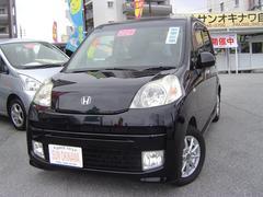沖縄の中古車 ホンダ ライフ 車両価格 58万円 リ済込 平成22年 9.3万K ブラックM