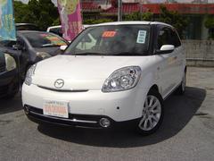 沖縄の中古車 マツダ ベリーサ 車両価格 63万円 リ済込 平成21年 6.8万K パールホワイト