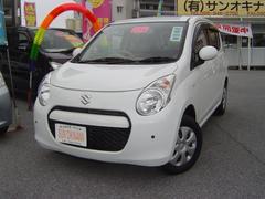 沖縄の中古車 スズキ アルト 車両価格 58万円 リ済込 平成23年 6.2万K ホワイト