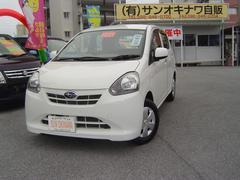 沖縄の中古車 スバル プレオプラス 車両価格 60万円 リ済込 平成25年 6.1万K ホワイト