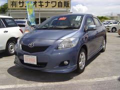 沖縄の中古車 トヨタ ベルタ 車両価格 49万円 リ済込 平成21年 7.5万K ブルーM
