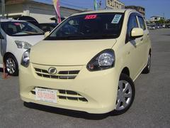 沖縄の中古車 ダイハツ ミライース 車両価格 68万円 リ済込 平成24年 2.9万K イエローM