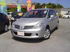 沖縄の中古車 日産 ティーダラティオ 車両価格 58万円 リ済込 平成24年 2.5万K シルバーM